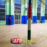 protezione-sportiva-gomma-pilastri-3-lati-150x150 Pilastri/muro di un campo da gioco in palestra