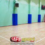 protezione-sportiva-pilastri-muro-150x150 Pilastri/muro di un campo da gioco in palestra