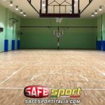protezioni-sportive-pilastri-cemento-150x150 Pilastri/muro di un campo da gioco in palestra
